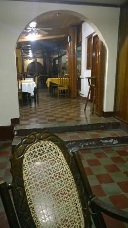 Hospedaje Cocibolca: El primer piso es muy bonito en comparación con las habitaciones
