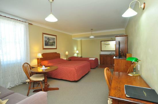 Ballina Heritage Inn: Deluxe Twin Room