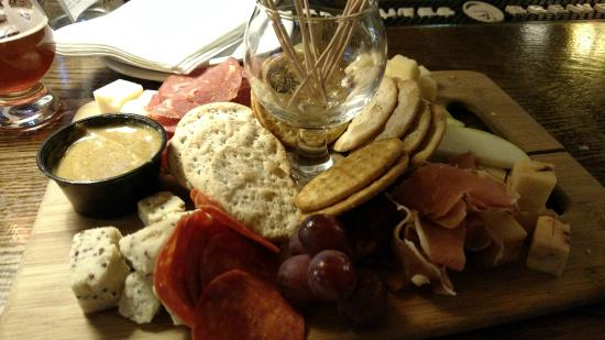 Bedford Heights, OH: Charcuterie.  This is a half serving.
