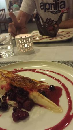 The Lakes Resort: fantastic dining is a must