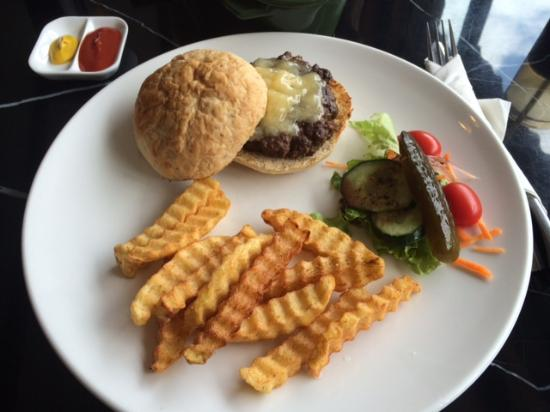 The Compass : Beef Cheeseburger/Fries