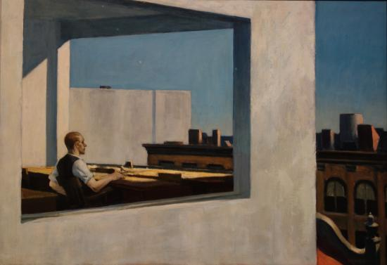 The Metropolitan Museum Of Art Edward Hopper Office In A Small City