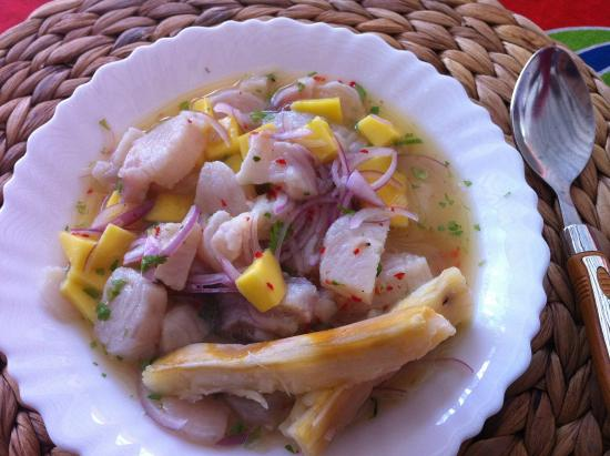 Hakuna Shida Guesthouse : our speciality -  King fish ceviche