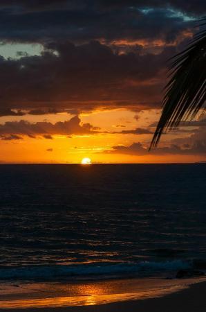 The Hale Pau Hana: sunset