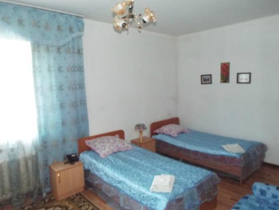 Ulpan : Спальная зона двухместного стандартного номера