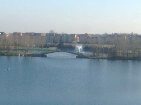 Travelodge Doncaster Lakeside: The view