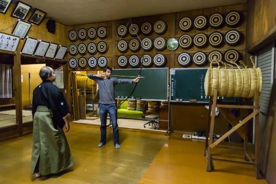 Démonstration de tir à l'arc japonais