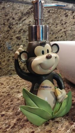 Papa Monkey Resort: Hand wash