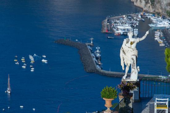 Caesar Augustus Hotel: Marina Grande from Caesar view