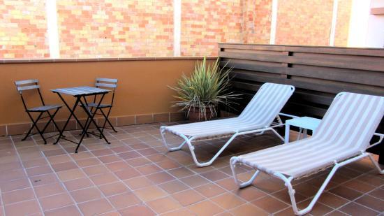 Carmen Hotel : Terraza