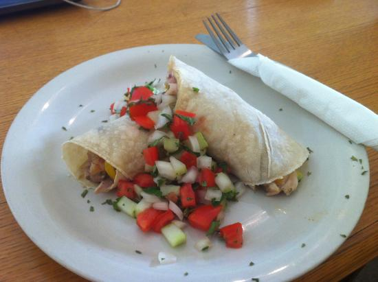 Adventure Lodge: Chicken Mushroom Wrap