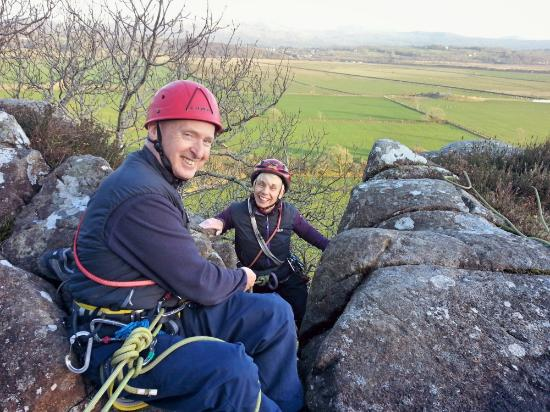 Trad taster session with Gaia Adventures