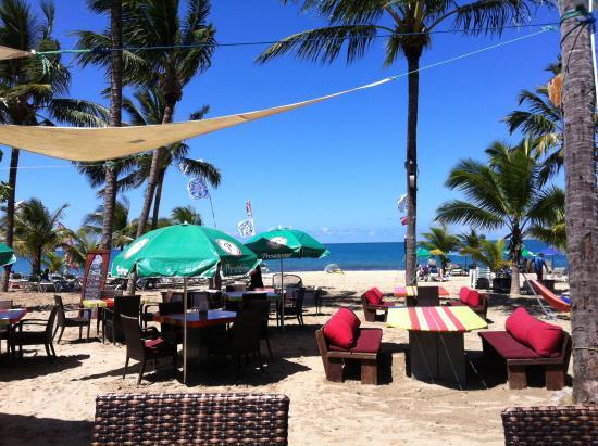 Front Loop Cabarete: Vue sur la plage