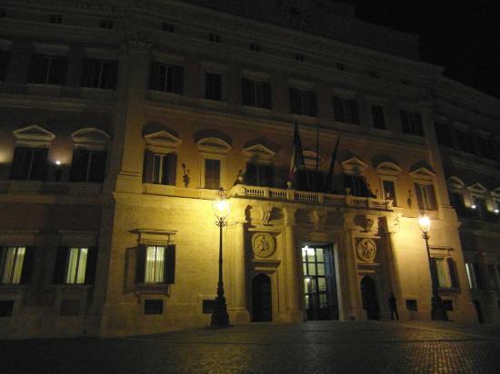 Obelisk in front of the palazzo picture of palazzo di for Sede camera dei deputati