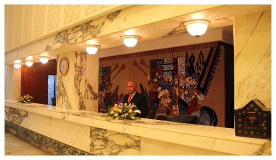 Marhaba Beach Hotel: Marhaba Beach reception