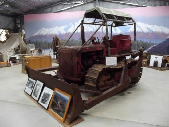Adaminaby, Australia: Machinery display