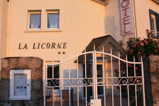 Hotel La Licorne Entrée - Photo de Hotel la Licorne, Carnac ...