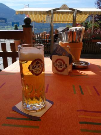 Gasthof Franz Josef: 啤酒