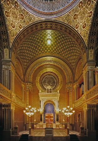 Photo of Tourist Attraction Spanish Synagogue, Jewish Museum in Prague at Vězeňská 1, Prague 110 00, Czech Republic