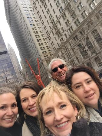 Custom & Private New York Tours Inc: Cliff and the Texas Girls