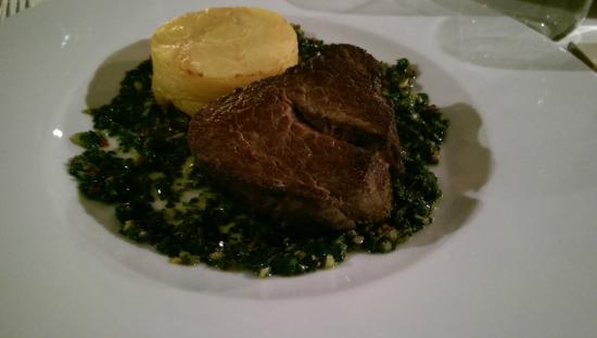 Borgo Agnese: Hovězí steak ze svíčkové