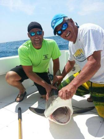 Siesta Key Fishing Charters: Capt Mark & Chuck! great photo