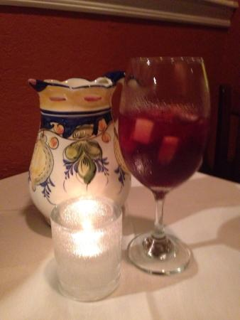 La Mancha: Sangria with candlelight dinner
