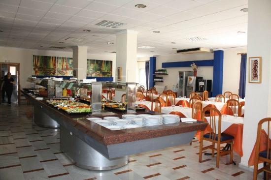 Playa de Gandia, Spain: Rstarurante buffet libre
