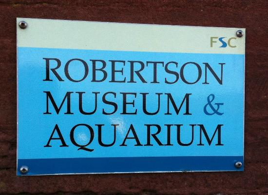 ‪Robertson Museum and Aquarium‬