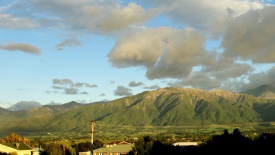 Bella Vista Motel Kaikoura: Morning Glory