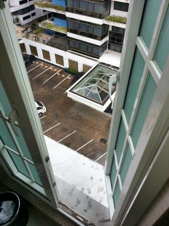 Kingston Suites: Bathroom Window