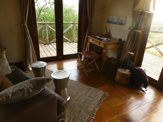 Escarpment Luxury Lodge : View from Room