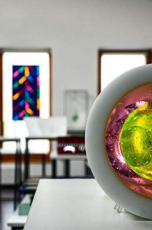 Hefter Glass Gallery & Studio: Interior