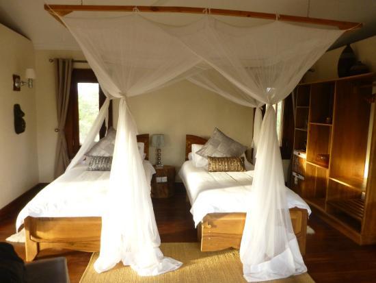Escarpment Luxury Lodge: Bedroom