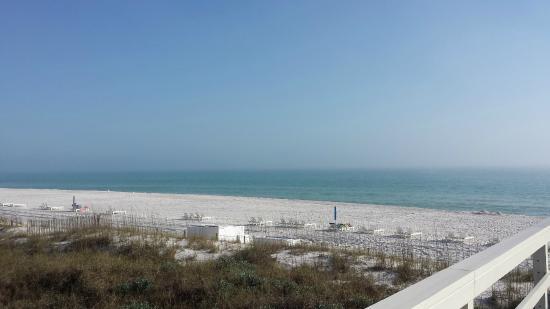 Carillon Beach Resort Inn: Carillon Beach private beach area from Walkover #7