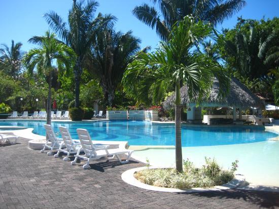 Costa Rica Monkey Tours Day Hotel Villas Playa Samara Pool Area