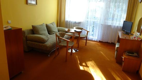 Bocianie Gniazdo Hotel: Wohnzimmer