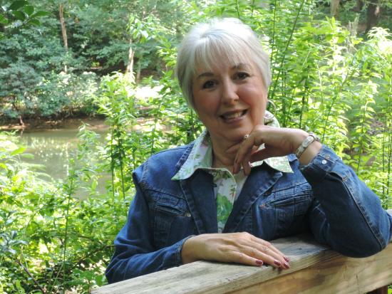 Hatcher Garden & Woodland Preserve: My wife of 50 years basking in Hatcher Gardens. Sweet!