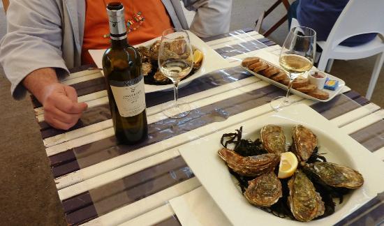 Degustation Huitres Hossegor Lou Casaou De Le Ma: Les huîtres, un délice