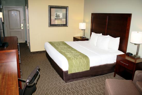 Comfort Inn Plymouth: King Guest Room