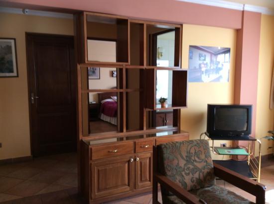 Apart Hotel Violetta's: Living room