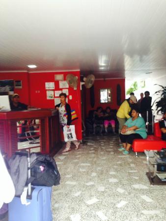 Hotel Amazonas Real : Recepción