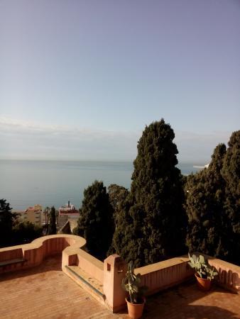 Hotel Castillo de Santa Catalina: view from the terrace of room 7