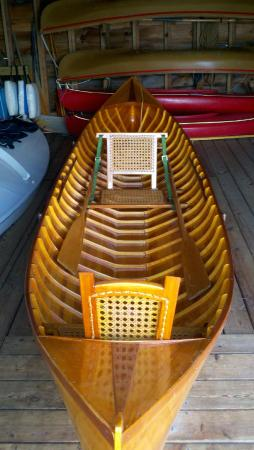 The Point: Adirondack boat
