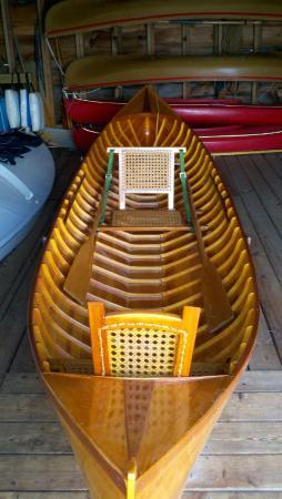 The Point: Adirondack boat