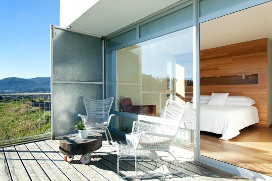 Hotel A Miranda : Terraza dormitorio Duplex Suite