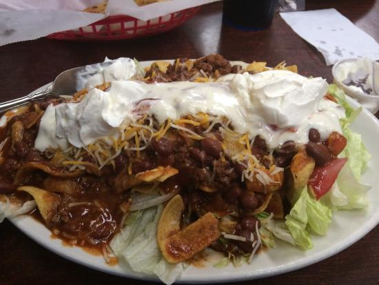 Jiffy Burger : Taco Salad my wife could not believe her eyes!