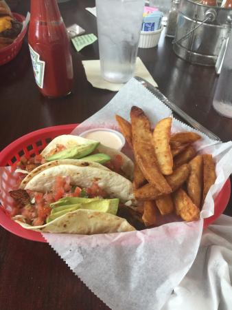 Awesome baja taco blacken picture of palm valley fish for Ponte vedra fish camp
