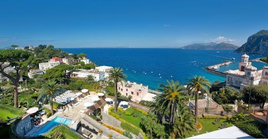 Villa Marina Capri Hotel & Spa: Hotel view