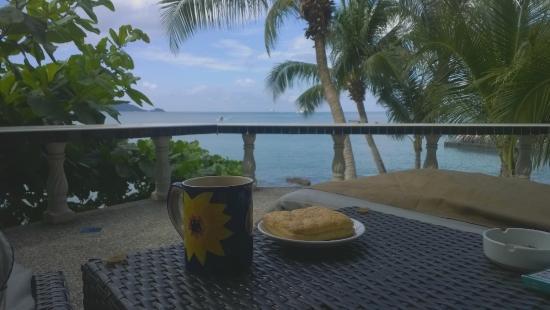 Patong Sunset Villa: Вид с балкона #3